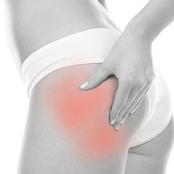 Muscle pain in the hip treated with quality massage therapy by the Muscular Injury Specialist in Cape Coral